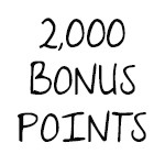 2,000 Bonus Points