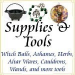 Witchcraft, Pagan, New Age, Wiccan, Occult, Spiritual Supplies & Tools