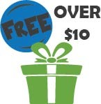 Free Gifts for Orders Over $10