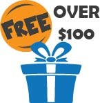 Free Gifts for Orders Over $100