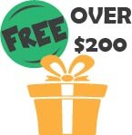 Free Gifts for Orders Over $200