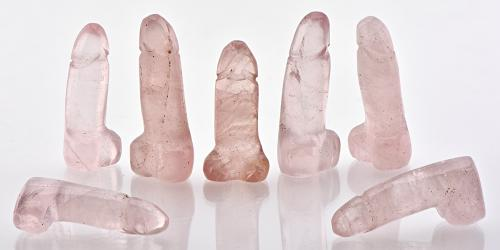 Rose Quartz Phallus