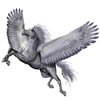 Custom Conjure Pegasus :: Magickal, Friendly, Inspiring