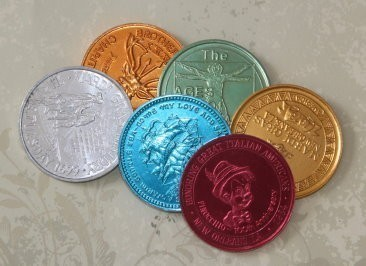 Mardi Gras Coin - Imbued With Good Luck, Prosperity, Wealth, & Attracting Money Spells