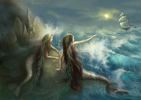 Oceanid Spirit :: The Hybrids Of The Waters :: Custom Conjuration