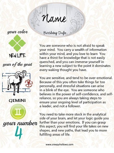 All About You :: Your Profile