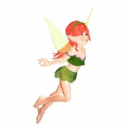 Amadan Fairy Spirit Named Frebe - Attracts Good Luck, Happiness & Love