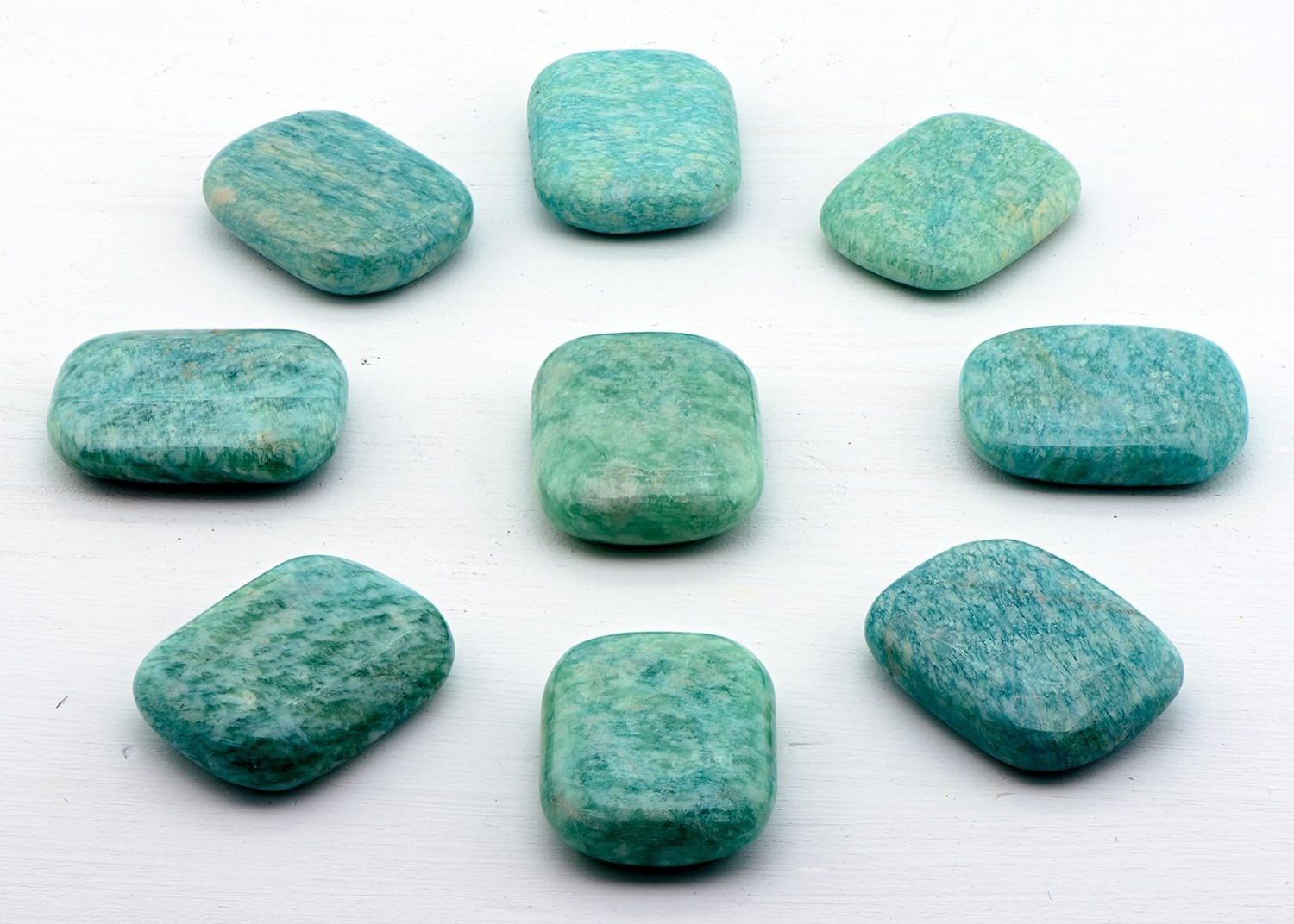 Amazonite Gemstone Pillows Creepy Hollows Altar Stones - Gemstone Of Spiritual Inspiration