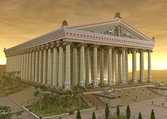 Magic of the 7 Wonders Of The World - Temple Of Artemis