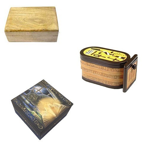 Binding Box :: Binds Spells Of Self-Confidence, Strength, Endurance, Physical Enhancement, Wish-Granting Desires