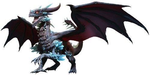 Blue Dragon Spirit Named Zeliar - Mystic