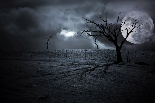 It Was A Dark And Stormy Night - Spell for a Frightening Experience