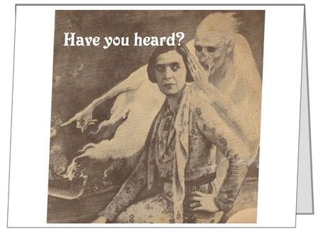 Note Card :: Have You Heard?