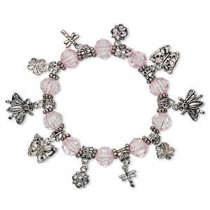 Charm Bracelet Spelled For Beauty, Youth, & Energy