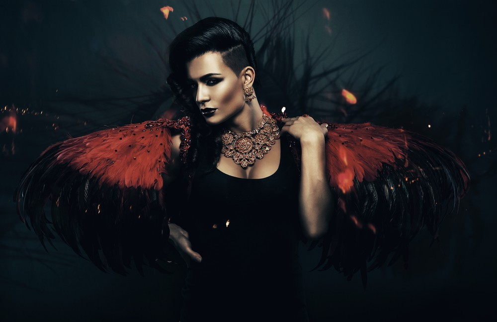 Courtwind Angel Spirit Named Corvy - Protective, Powerful, Assertive
