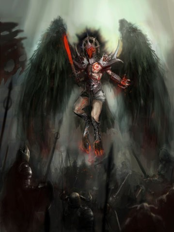 Courtwind Angel Spirit Named Haugger - Protective, Strong-Willed, Confident, Daring