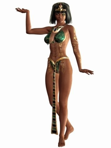 Cleopatra Djinn Spirit Named Pia - Charm, Seduction, Power