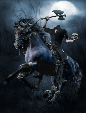Custom Conjuration The Headless Horseman (Dullahan) :: Vengeful Spirits Of Power