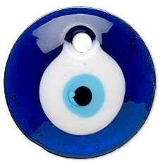 Glass Evil Eye Amulet For Protection