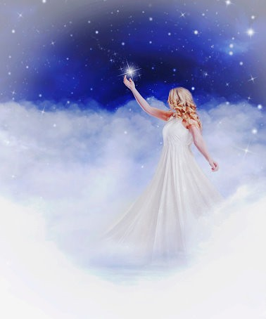 Star Faery Spirit Named Sadri - Written In The Stars With Unlimited Wishes
