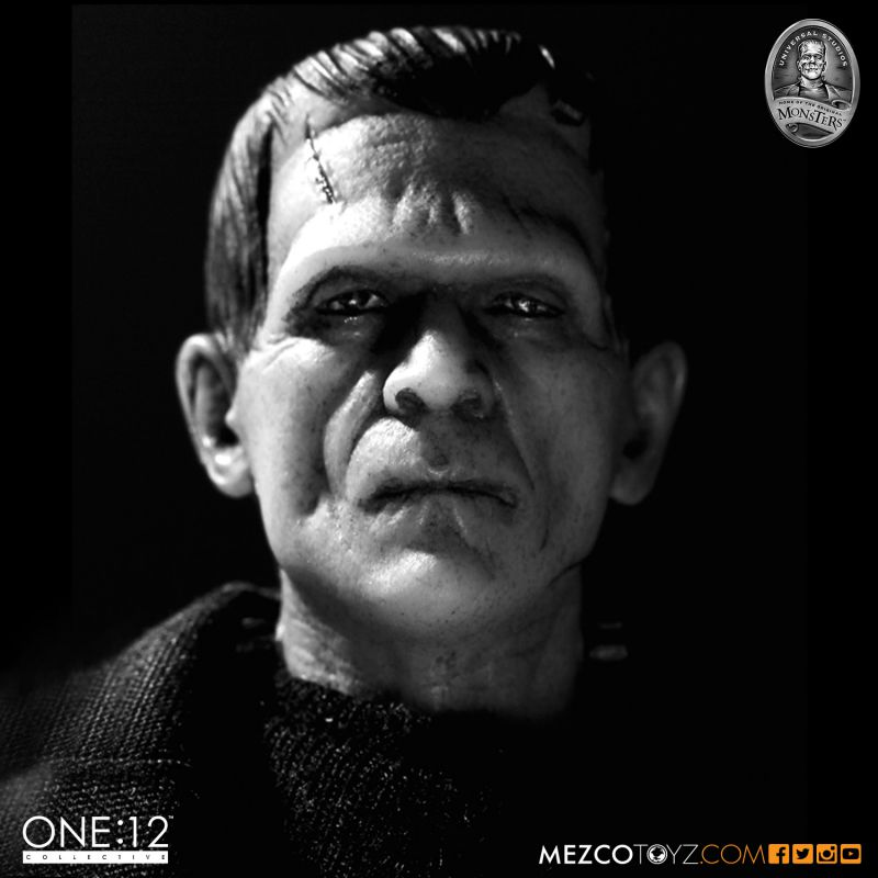 Frankenstein Universal Monster Doll :: The Most Iconic Monster Of Book & Screen In History