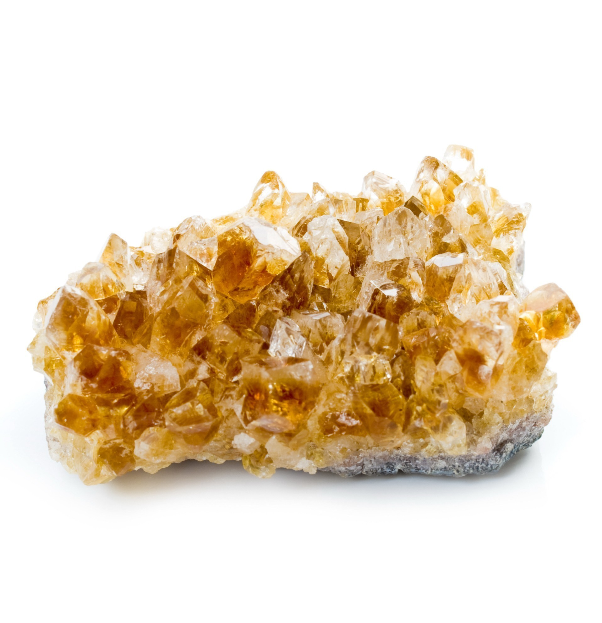 Citrine Cluster :: Metaphysical Properties Of Citrine For Luck, Money, Protection, Healing