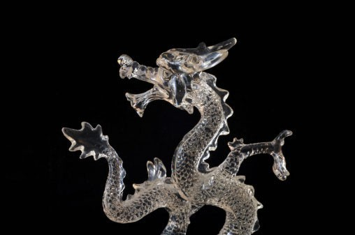 Limited Quantity :: Custom Conjuration :: Rare Glass Dragon