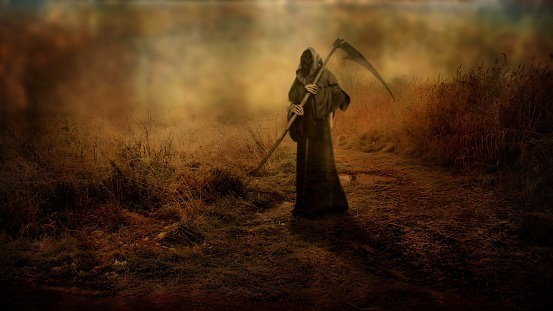 Custom Conjuration Grim Reaper Spirit - Escorts Of The Spiritual Realm