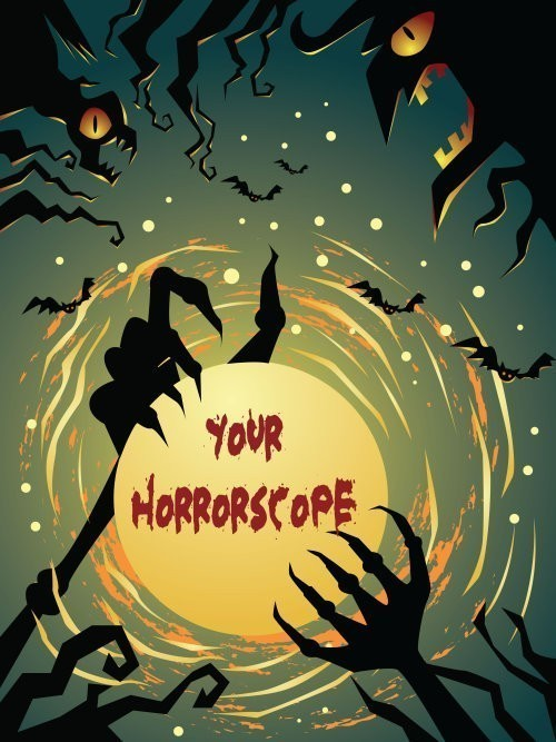 What's Your Horrorscope?  This Is No Ordinary Reading Of The Signs!