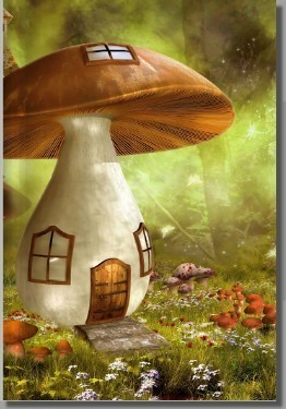 Mushroom Journal :: Creepy Hollow Exclusive
