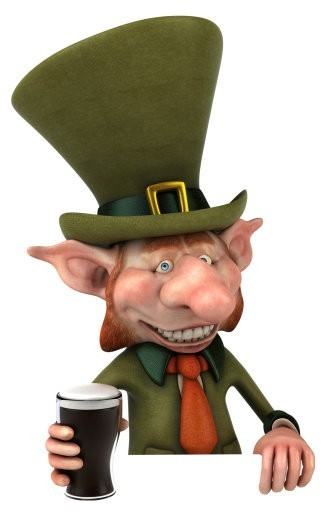 Leprechaun Spirit Named Peck - Prosperity, Good Luck & Happiness
