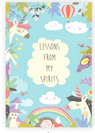Lessons from My Spirits - Paperback Book of Affirmations