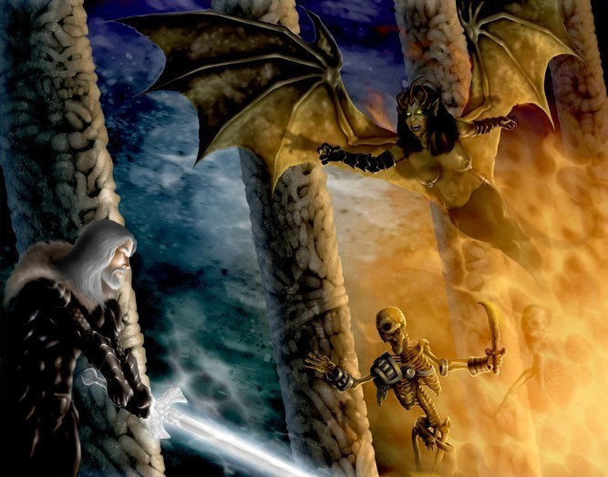 Living Entity Binding :: The Toun From The Astral Realm :: Raptors With Armies