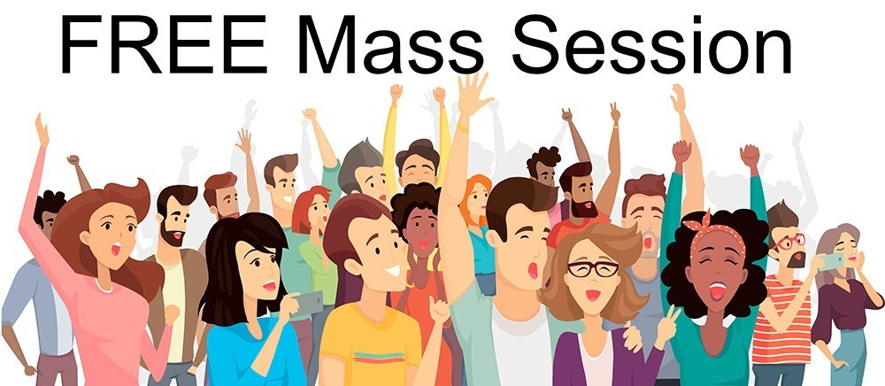 ! Free Mass Session for Gift Enhancement - January 15, 2021
