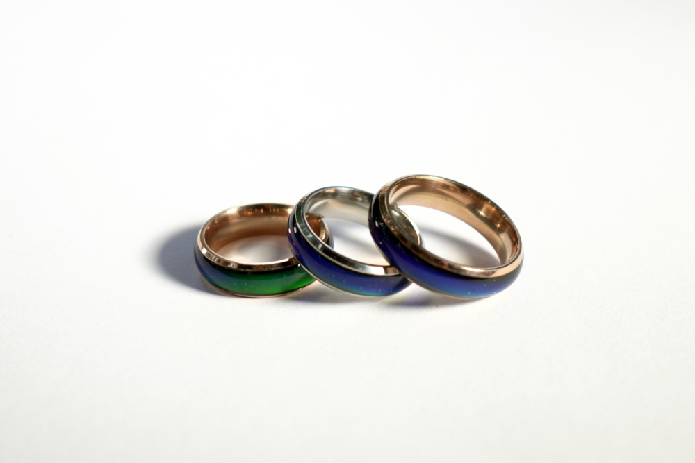 Mood Ring With A Spell For Good Luck