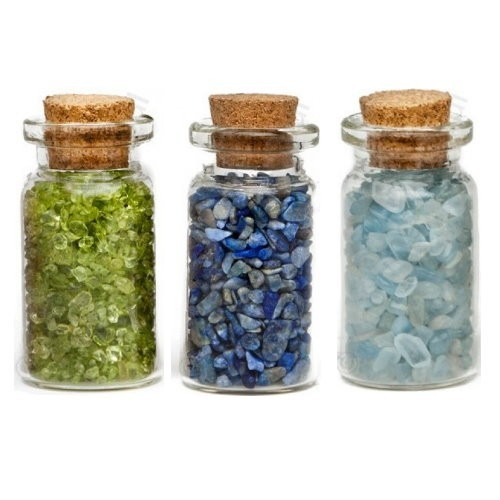 Mystery Bottle :: Filled With Natural Gemstones & Surprise!