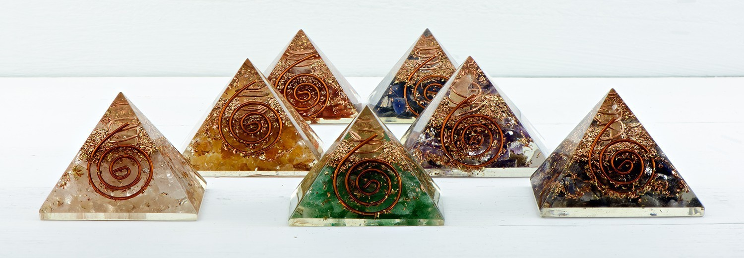 Mini Orgone Pyramid :: The Energy Of Life :: The Universe By Storm