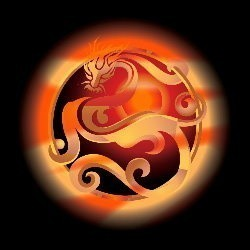 Custom Conjure Sienna Dragon© :: Hybrid :: Chatty, Mystical, Gracious Companions, Energetic, Fascinating Power