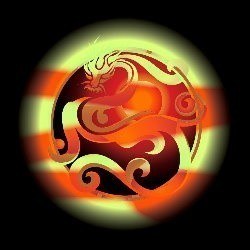 Custom Conjure Sun Dragon© :: Hybrid :: Chatty, Magickal, Mystical Energy, Fascinating Companion