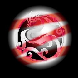 Custom Conjure Vermillian Dragon© :: Hybrid :: High Energy, Seeks Treasure & Prosperity, Outgoing & Funny