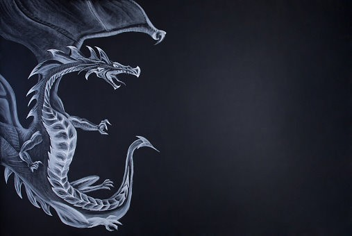 Custom Conjuration of Paper Dragon :: The Unusual & Strange Dragon Creature Of The Spiritual Realm
