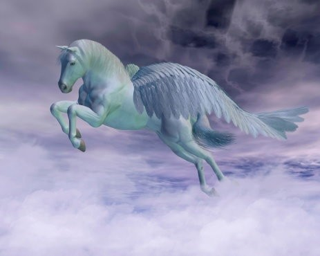 Pegasus Spirit Named Lyrzie - The Immortal Creature Of Beauty, Magick & More