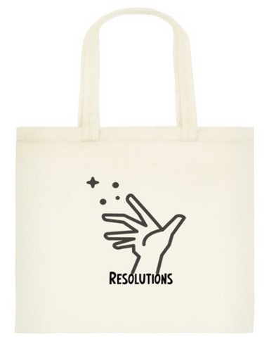 Binding Bag For Resolutions :: Make Your Goals Come True