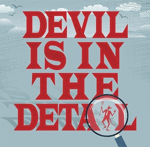 The Devil's In Your Details Spell for Working Out Your Life Knots