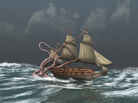 Release The Kraken!  Powerful Spell Of Aquatic Influence And Energy