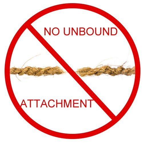 No Unbound Attachments :: Keep Unbounds From Attaching To Objects In Your Home