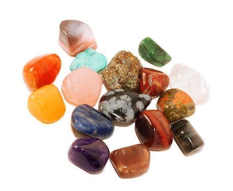 Bag Of Tumbled Gemstones