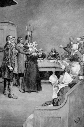 Custom Conjuration Of Those Persecuted During The Witch Trials