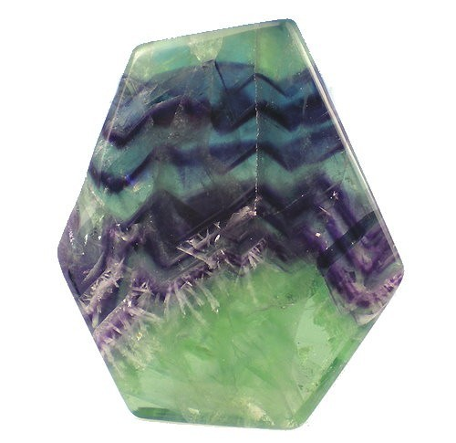 COUNSELOR & GUIDE TOOL IN BEAUTIFULLY POLISHED FLUORITE SLAB