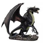 Black Dragon Statue